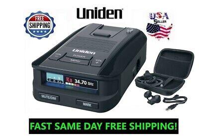 Uniden Radar Detector Police Laser Best Range Detectors GPS Car Mount DFR9