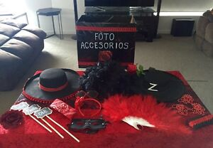 Spanish Fiesta Theme Party Centrepieces and Photo Booth Props Northgate Port Adelaide Area Preview
