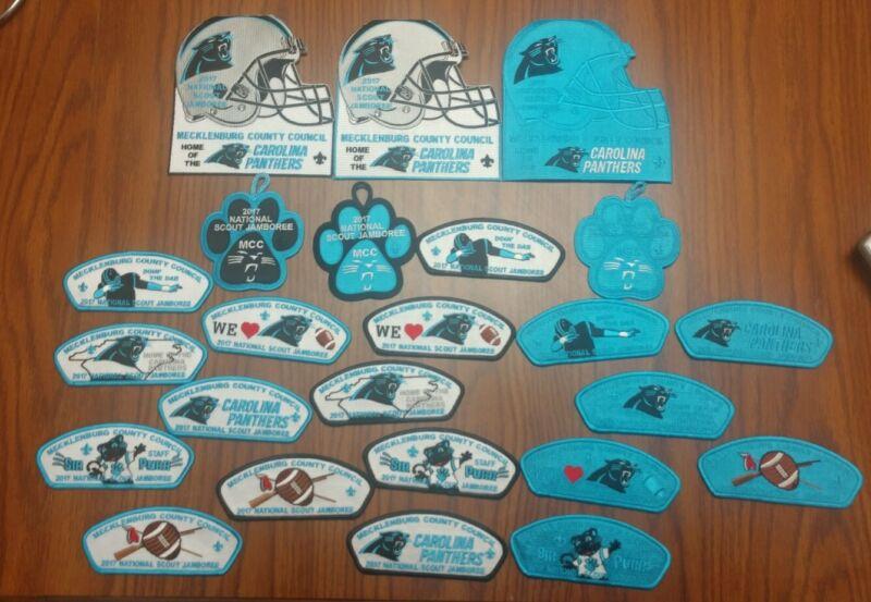 2017 BSA National Jamboree Mecklenburg County Council Carolina Panthers JSP Set