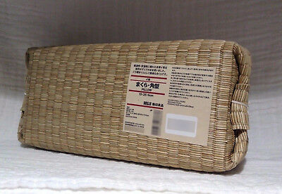 New MOMA MUJI Igusa Rush COOL Japanese Pillow Tatami Gift Kawaii F/S with Track