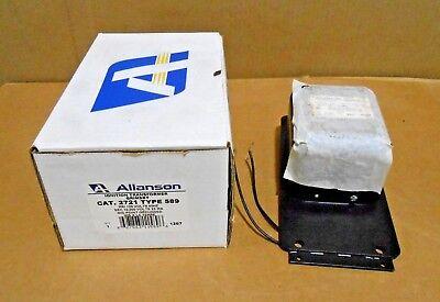 Nib Allanson 2721-589 Ignition Transformer 120v 23ma Mid Pt Grounded 17 Avail