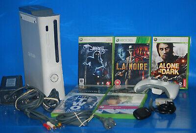 Consola XBOX 360 +  mando + 7 juegos + PC wireless gaming receiver X360 segunda mano  Embacar hacia Argentina