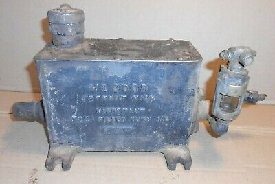 Mccord Oiler Automatic Lubricator Machine Forced Feed