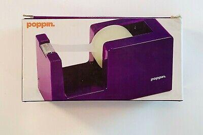 Poppin Tape Dispenser Purple Cool Modern Desktop Tape Dispenser Wtape Refill
