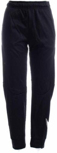 Boys Black Nike Fleece Jogger Pants Slim Fit Dri-fit retail $40  ~ 943371 010 []