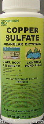 Southern Ag Copper Sulfate Granular Crystals 2 5Lbs
