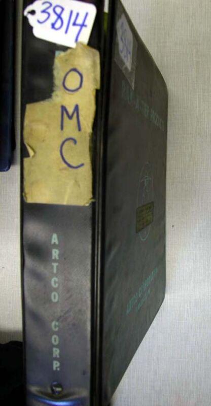 OMC Loader Manuals (Inv.3814)