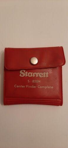Starrett Center Finder Complete S-826h
