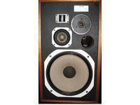 Vintage pioneer hpm 100 speakers