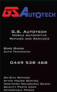 GSAutotech Mobile Automotive Repairs and Services Roxburgh Park Hume Area Preview