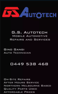 GSAutotech Mobile Automotive Repairs and Services