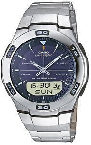 Casio Funkuhr Wave Ceptor WVA-105HDE-2AVER Herren-Armbanduhr