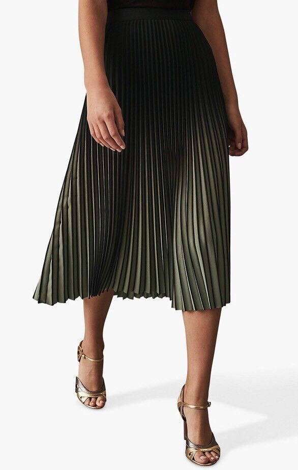 b1387ec610 Reiss Marlie Two Tone Pleat Midi Skirt | in Streatham Hill, London ...