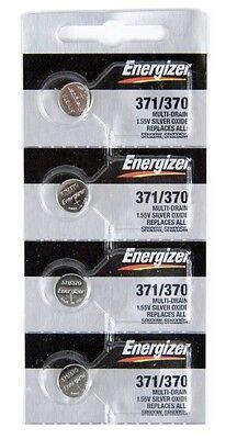 Energizer Electronics - 371 Energizer Silver Oxide Watch / Electronic Battery 4 Pcs