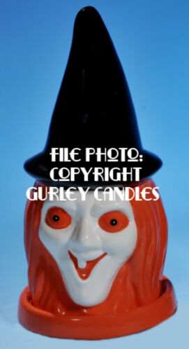 "Gurley ""Saf-T-Glo""  Candle Lamp - Witch"