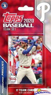 Philadelphia Phillies 2020 Topps Limited Edition 17 Card Team Set-Bryce -