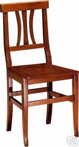 Sedia sedie legno tavoli cucina cucine soggiorno classica for Sedie legno cucina