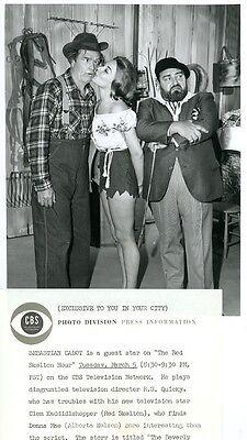 RED SKELTON ALBERTA NELSON LEGGY SEBASTIAN CABOT RED SKELTON SHOW 1963 CBS (Nelson Alberta)