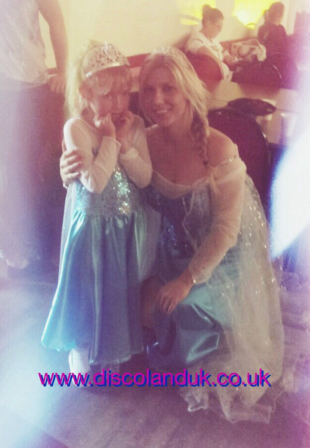 Frozen Themed Kids Party - Characters Elsa Anna Olaf childrens parties