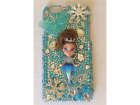 Customised ice queen doll iPhone 6/6s case