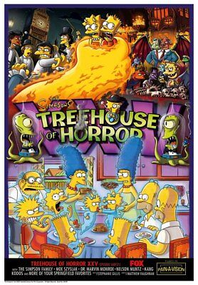 Treehouse of Horror XXV A Clockwork Orange School Hell Halloween Fine Art Giclée](A Clockwork Orange Halloween)