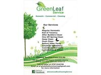 GreenLeaf Domestic and Commercial Cleaning