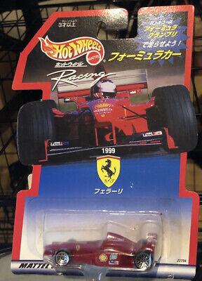 Hot Wheels Racing Scuderia Ferrari F1 Formula Grand Prix VHTF 1999 MOC Japanese