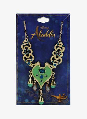 LICENSED! Disney Aladdin LIVE ACTION Jasmine REPLICA Necklace NEW!  (Disney Necklaces)