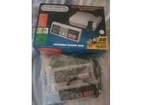 Nintendo Classic Mini. New. With 2 additional controllers