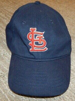 Navy Blue Slouch Hat - Head Shots ST. LOUIS CARDINALS Navy Blue Slouch / Golf Fit Cap / Hat Adult OSFA