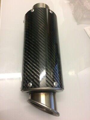 Hotbodies Racing Carbon Fiber Slip-On MGP Exhaust Canister Muffler 41401-2400