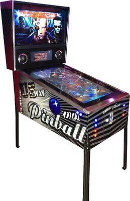 VP-05 Neuer Virtual Pinball Flipper Spielautomat Arcade Maschine Flipperautomat