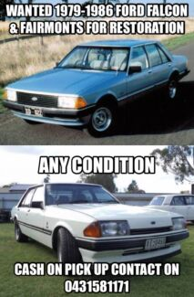 Wanted: Ford xd,xe falcon,fairmont wanted