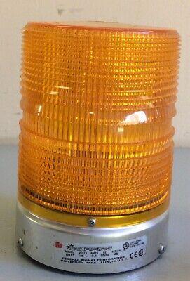 Federal Signal Starfire 131st Strobe Light Orangeb120 Volt A5