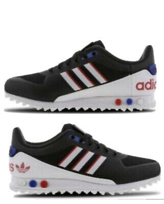 New Adidas LA trainer 2 Mens Size 9(US) 8.5(UK) Black Rare Los Angeles Trainers