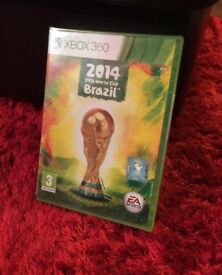 Xbox 360 Brazil 2014 Fifa World Cup Game - sealed