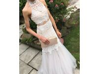 Prom dress/size 4-6/worn once great condition