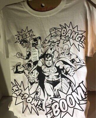 Cheap Decorative Lanterns (Kids Large White Dc Comics Shirt To Decorate Superman Batman Green Lantern)