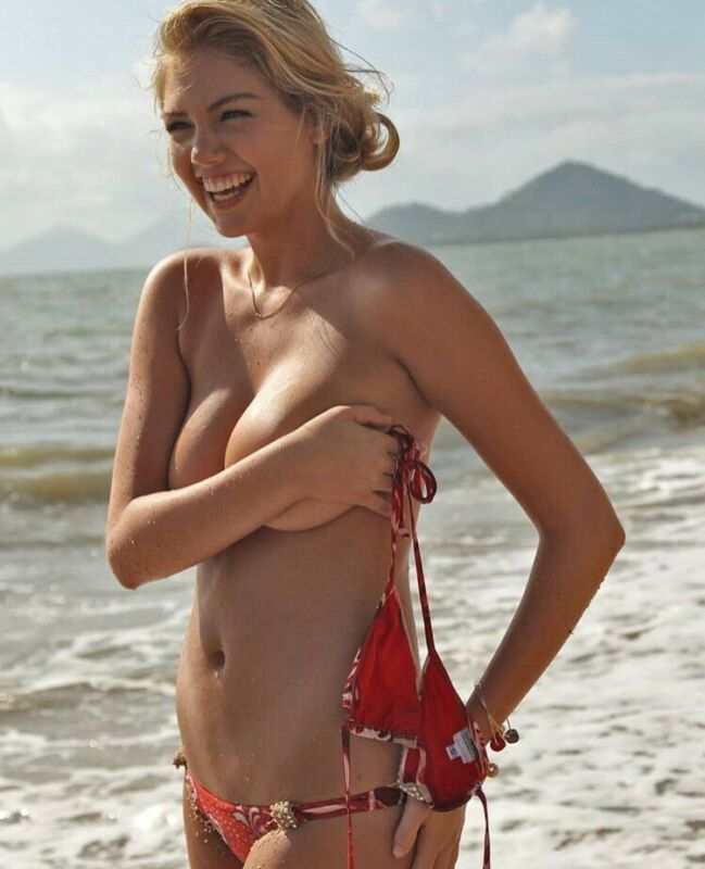 Kate Upton - Topless And Holding On !!!