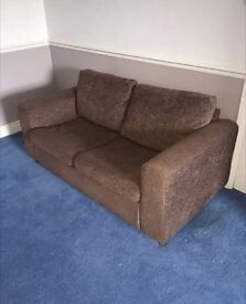 2 seater sofa bed good condition