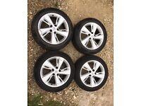 Genuine Renault Scenic / Megane Plenum 17 inch alloy wheels