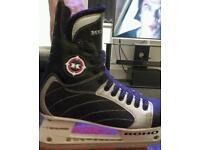 Size 9 ice hockey boots