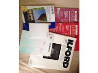 Photographic printing paper