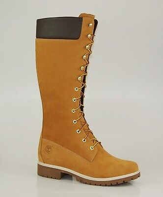 14 Inch Premium Boots - Timberland 14 Inch Premium Boots Waterproof Women's Winter Boot Wheat 3752R