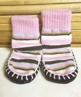 Baby Girl Slip-on Slippers Boots Sock-Shoes Soft Sole Winter Crib Shoes Target