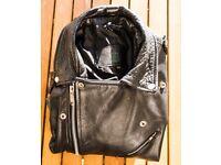 Exceptional Vintage Leather jacket - Unisex - S