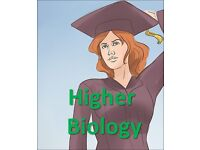 Private Higher Biology Tutor (PhD-educated college lecturer) at Merchant city