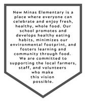 Head Cafeteria Worker, New Minas Elementary