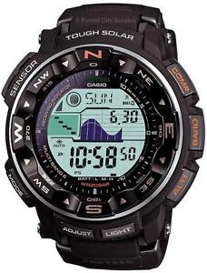 CASIO PRW2500R PRO TREK SOLAR POWERED MULTI FUNCTION WATCH WITH ATOMIC ACCURACY
