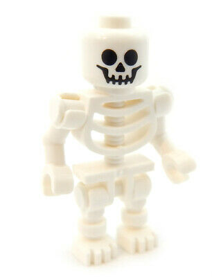 NEW LEGO SKELETON halloween minifig minifigure figure pirate castle ghost zombie